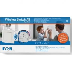 KIT xComfort Intrerupator lumini/prize wireless CPAD-00/212