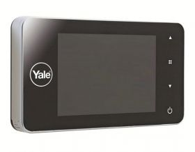 Vizor electronic YALE DDV4500, inregistrare foto, display LCD 4""